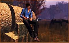 Harvest Home (carsoncaiben) Tags: waffles adclothing vintagehunt themill rkposes adam ikon catwa nomatch labyrinth nivaro