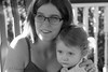 after the bee (LavenderMillie) Tags: littleritters2017 sad bee sting portrait mama light trochuarboretum alberta monochrome bw blackwhite mother daughter family