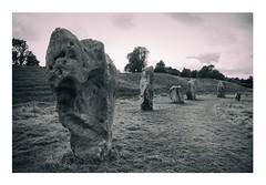 Avebury Stone Circle (Mark Curnow Photography) Tags: avebury stonecircle aveburystonecircle wiltshire england uk outdoorphotography canon megalith architecture archaeology stone old ancient blackwhite greyscale monochrome
