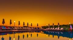 Between Heaven and Water (George Nutulescu) Tags: pool sunrise sunset sun summer goldenhour nikon seascape sea sentimental outstandingromanianphotographers