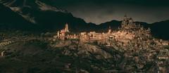 Beauclair (~Scimo~) Tags: tw3 witcher fantasy city screenshot mountain stadt berg landscape landschaft dawn dämmerung