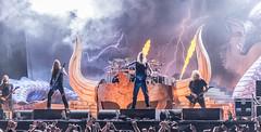 Amon Amarth @ Gefle Metal Festival (acase1968) Tags: amon amarth gefle gavle sweden viking metal concert horns johan hegg nikon d750 nikkor 85mm f18g
