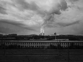 Dalian, Liaoning, China 2017 MelbournePhotographer IPhoneography Mobilephotography ShotoniPhone6s Adobelightroommobile Vscocam Built Structure Sky Architecture Industry Factory Cloud - Sky Pollution Smoke Stack Building Exterior Smoke - Physical Structure