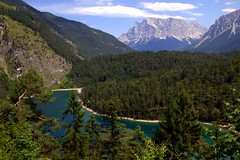 Summer charm of the Tiroler Zugspitz Arena (mark.paradox) Tags: austria germanyaustriaborder zugspitze wetterstein alps mountains lake blindsee fernpass biberwier beauty amazing charm colors nature landscape scenery view travel altitude adventure forest