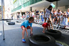 Brooklyn Boulders Foundation at Uptown Rest Stop (NYCDOT) Tags: citi citisummerstreets summer summerstreets 2017
