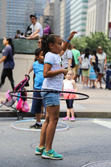 The Hoop Movement at Uptown Rest Stop (NYCDOT) Tags: citi citisummerstreets summer summerstreets 2017