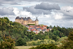 Chateau de Hautefort (Missy Jussy) Tags: chateau hautefort france southwestfrance dordogne sky buildings house architecture trees view trip travel holiday canon canon5dmarkll 70200mm canon70200mm historical historicalbuilding