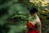 (AaronNett) Tags: outdoors oregon red dress dream portrait portland abstractportrait light lighting natural beauty beautiful girl