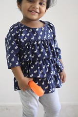SEW-Ruffled Picnic J (blog.theverandah) Tags: sewing olivers 2016 handmade chennai kids children classpicnicblouse ruffles