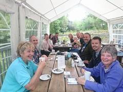 Bryngarw Park Vol Group guided walk at Coffee Shop