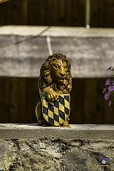 Bavarian Lion (carolienvanhilten) Tags: garmischpartenkirchen bavaria beieren gorge partnachklamm deutschland duitsland germany waterfall waterval rainbow mountains water