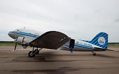 PH-PBA Douglas DC-3C-S1C3G C/N 19434 at Lelystad Airport (janencherry) Tags: dakota dda classicairlines prinsesamalia douglas dc3 phpba ehle lelystad lelystadairport sony a58 sonyslta58 zeiss