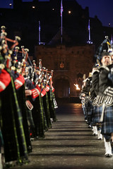 Tattoo 2nd Visit-54 (Philip Gillespie) Tags: 2017 edinburgh international military tattoo splash tartan scotland city castle canon 5dsr crowds people boys girls men women dancing music display pipes bagpipes drums fireworks costumes color colour flags crowd lighting esplanade mass smoke steam ramparts young old cityscape night sky clouds yellow blue oarange purple red green lights guns helicopter band orchestra singers rain umbrella shadows army navy raf airmen sailors soldiers india france australia battle reflections japan fire flames celtic clans