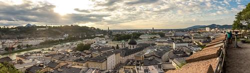 Ultimo atardecer en Salzburgo
