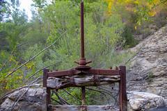 Compuerta jubilada (kum111) Tags: compuerta gate viejo old antique oxido acequia irrigationditch oxide