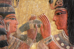 Museo del Louvre , Pared extraída de la tumba de Seti I , Valle de los reyes , Luxor , Egipto , Kings Valley , Egypt. (Soloegipto) Tags: setii sethii seti sethyi tumbadesetii ramses ramsesii ramsesseti luxor ellouvre museodellouvre museum museoegipcio egipto egypt egipte egypte egyptian egiptomania egyptianmuseum egyptiantomb soloegipto