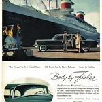 1955 Cadillac Fleetwood Seventy-Five Sedan, Body by Fisher thumbnail
