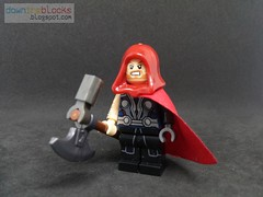 Lego Marvel Unworthy Thor aka Odinson Minifig MOC DTB043 (downtheblocks) Tags: thor unworthythor odinson futurefight lego marvel superhero moc minifig