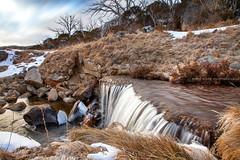 Pipers Creek || PERISHER VALLEY || AUSTRALIA (rhyspope) Tags: australia aussie nsw new south wales perisher thredbo snowy mountains rhys pope rhyspope canon 5d mkii kosciuszko winter ice snow cold stream water waterfall