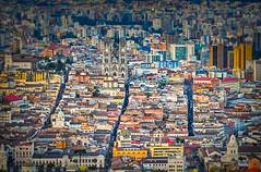Colonial Quito (Quito, Ecuador. Gustavo Thomas © 2017) (Gustavo Thomas) Tags: quito ecuador pichincha view vista cityscape ciudad downtown centro toy juguete maqueta colour color city southamerica sudamérica
