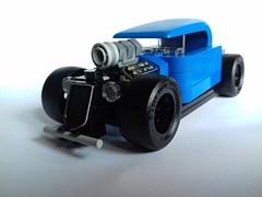 Hot-rod (Be-C Custom Brick) Tags: lego moc custom hotrod hot rod bec brick speed champion ford