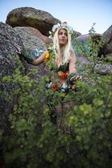 Model: Jessica (Limit Breaker Media) Tags: fairy woodland pixie leaf nature mothernature flowers flowercrown blonde wings fairywings wyoming america cutie prettygirl photoshoot trees model cosplay