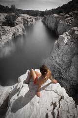 La sirène (Monsieur Gina) Tags: cascades sautadet chute eau rapides languedoc roussillon gard