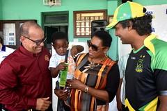 MINISTER GRANGE PROPOSES CARIBBEAN WOMEN's T20 CRICKET LEAGUE