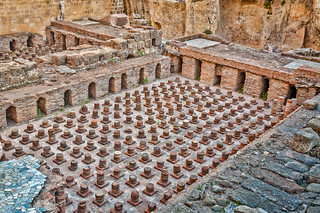 Ruins of a Roman baths in Beirut