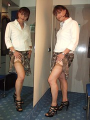 stockings tease (Marie-Christine.TV) Tags: stockings female feminine transvestite lady mariechristine tease garter nylons