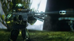Halo: Combat Evolved | The Beauty of SPV3 (Joshua | Ezzell) Tags: halo halocombatevolved screenshot spv3 covenant flood masterchief cortana elite grunt brute jackal odst marines space videogame cinematic cinematicphotography lensflare sangheili unggoy jiralhanae unsc