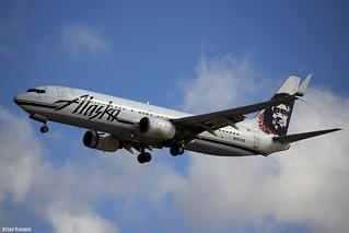 Alaska Airlines Boeing 737 N557AS