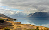 Lake Pukaki and Mt Cook NZ. (Bernard Spragg) Tags: lakepukaki mtcooknz lumix scenery newzealand canterburynz fabuleuse