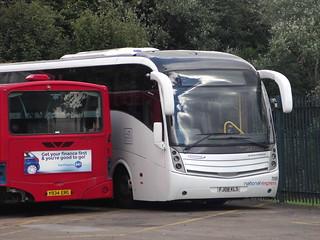 National Express go north east  FJ08 KLS 7095