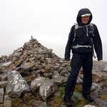 Me on the summit of Meall a' Chrasgaidh (934m), my 89th Munro thumbnail