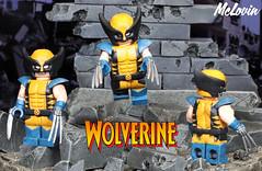 Wolverine (McLovin1309) Tags: wolverine x men xmen tas animated series classic logan jack howlett toy custom lego minifigure minifig