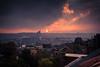 Sky Shades / Les nuances du ciel (Gilderic Photography) Tags: skyline cityscape sunset liege belgium belgique belgie city sky clouds canon 500d gilderic ville urban