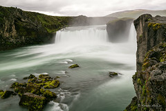 Goðafoss  (which means waterfall of the gods in Icelandic) (aNNajé) Tags: 2017 ijsland iceland landscape landschap