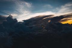 11439 (Panda1339) Tags: 28mm leicaq hk summiluxq kronos hongkong sunrise cloudformation 619am plane