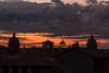 Sunset (Patty ☼) Tags: tramonto roma cupole silhouette