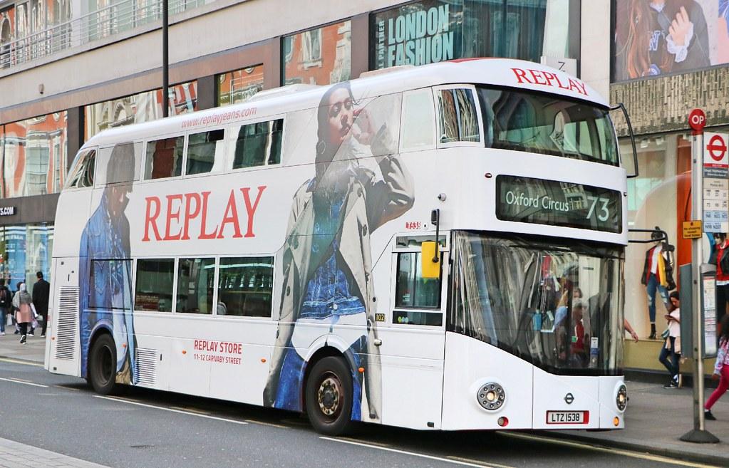 89af55444117 Arriva London - LT538 - LTZ1538 - Replay Jeans (Waterford Man) Tags  lt538  ltz1538