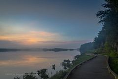 Dawn (99baggett) Tags: augusta fog ga georgia jmb1950 mbaggettphotography mist nature river savannahriver sky sunrise