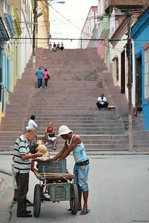 Streets of Santiago de Cuba