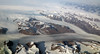 2017_09_13_lhr-lax_139 (dsearls) Tags: kongfrederikvikyst kingfrederickvicoast greenland semersooq 20170913 lhrlax united boeing787 dreamliner windowseat windowshot aerial flying blue ice snow arctic ocean northatlantic atlantic greenlandicesheet glacier glaciers fjord fjords icebergs mountains barren brown
