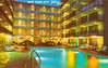 New York City Travelodge, New York City, New York (Thomas Hawk) Tags: america manhattan newyork newyorkcity newyorkcitytravelodge travelodge usa unitedstates unitedstatesofamerica vintage motel pool postcard swimingpool fav10