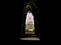 San Pietro (Andrea Ambrosini) Tags: roma rome sanpietro hole door hold thedoor hodor shadow light sky inside lock