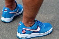 Custom Cubs Kicks (dangaken) Tags: chicago chicagoil il illinois windycity cityofbroadshoulders summerinchicago summerinthecity september2017 chitown chi usa midwest lakeview centrallakeview cubs chicagocubs cubsvcardinals stlouiscardinals wrigley wrigleyfield baseball mlb nlcentral pennantrace majorleaguebaseball sport stadium ballpark rivals rivalry chicubs nationalleague sweep wrigleyfieldbleachers bleachercreatures bleachers bleacherseats centerfieldbleachers fans