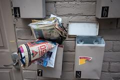 Canada 150 (sevres-babylone) Tags: ©jmartinsevresbabylone toronto croftstreet mailbox canadiantire flyer 170703153049721024 ricohgrii