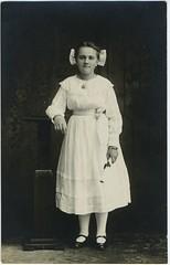 1902 or so - probably Hazel Swank