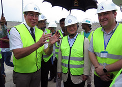 Yukiya Amano tours the Rooppur Nuclear Power Plant Project (01811224)